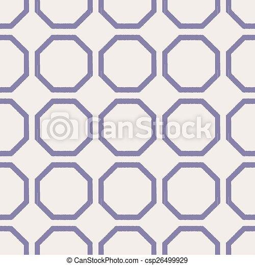 seamless geometric mesh pattern - csp26499929