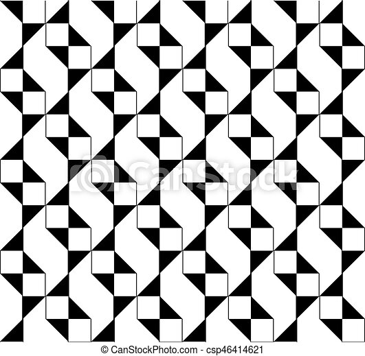 Seamless geometric pattern - csp46414621