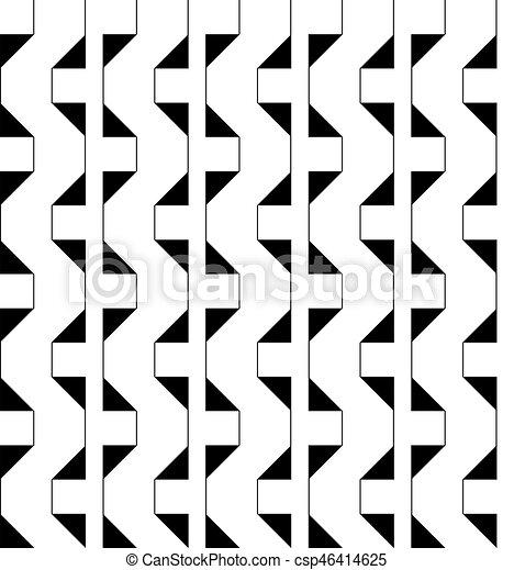 Seamless geometric pattern - csp46414625