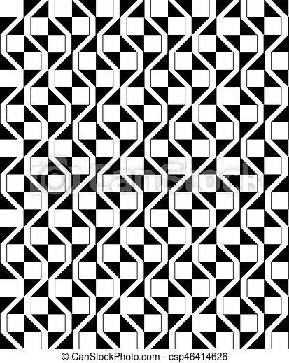 Seamless geometric pattern - csp46414626