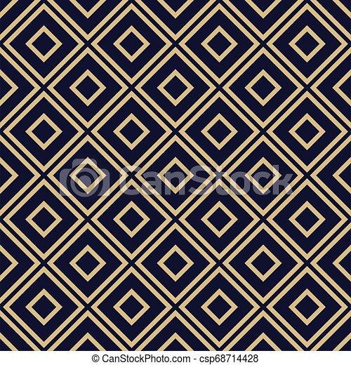 Seamless Geometric pattern. - csp68714428