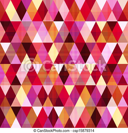 seamless geometric triangle pattern - csp15879314