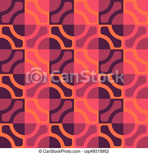 Seamless Grid Pattern - csp49318952