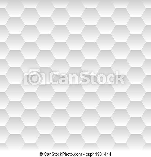 Seamless Honeycomb. Hexagon Background Pattern. Vector - csp44301444