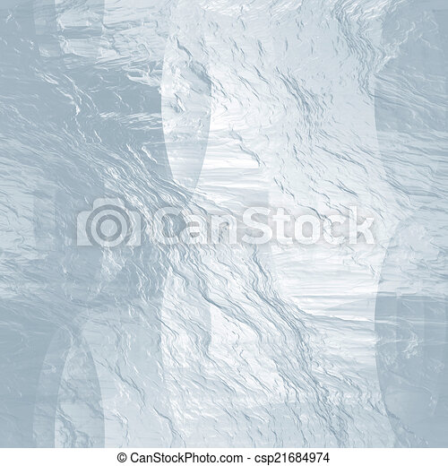 Seamless ice texture (abstract winter background) - csp21684974