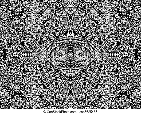 Line Art Design Abstract : Seamless intricate abstract vector design illustration a