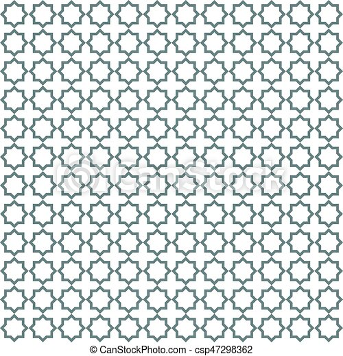 Seamless Islamic Pattern Vector Illustration