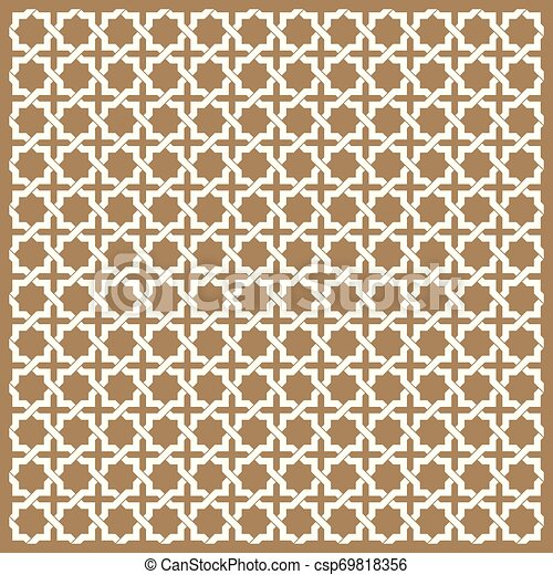 seamless islamic patterns in beige traditional muslim ornament seamless islamic patterns set in beige color https www canstockphoto com seamless islamic patterns in beige 69818356 html