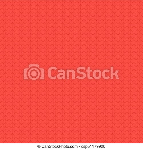 Seamless Knitted Pattern Christmas Background Knit Texture Red
