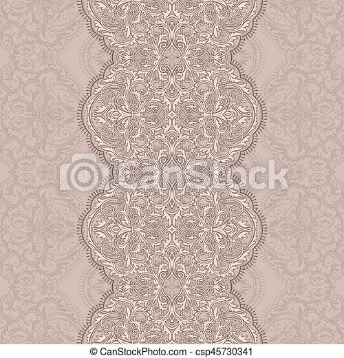 Seamless lace - csp45730341