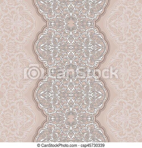 Seamless lace - csp45730339
