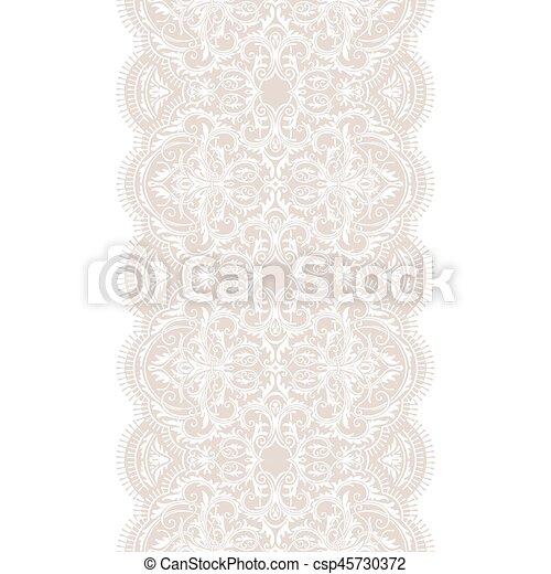 Seamless lace - csp45730372