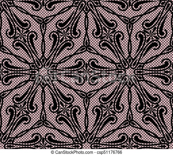 Seamless lace pattern - csp51176766