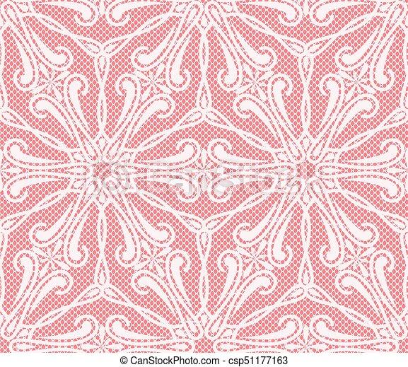 Seamless lace pattern - csp51177163