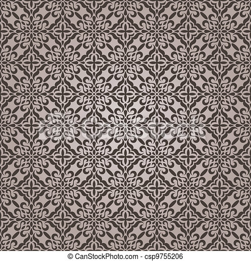seamless lace pattern - csp9755206
