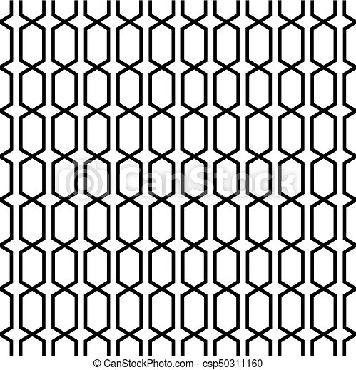 Seamless Lattice Trellis Pattern