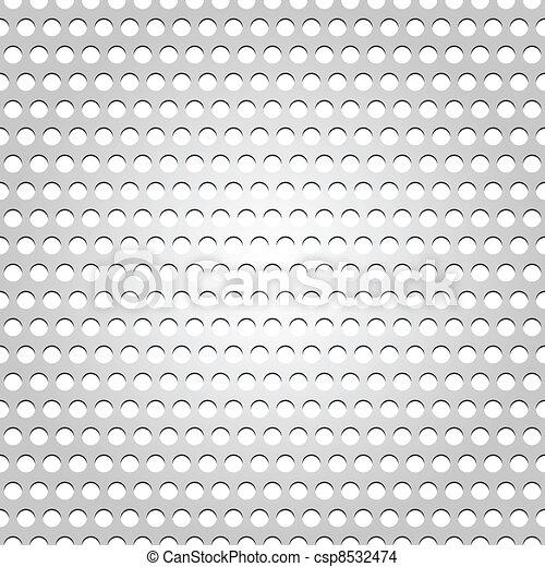 Seamless metal surface - csp8532474