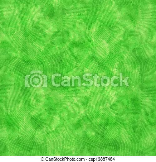 seamless, modèle, aquarelle, vert - csp13887484