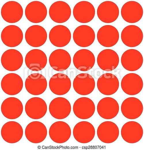 seamless., motívum, elvont, polka, háttér., retro, geometriai, pont - csp28807041