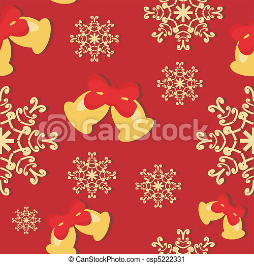 seamless New Year background - csp5222331
