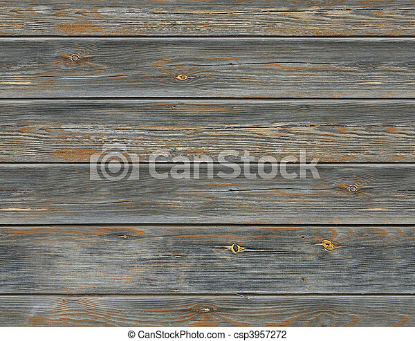 seamless old wood texture - csp3957272