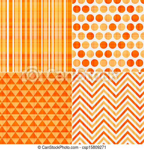 seamless orange texture pattern - csp15809271