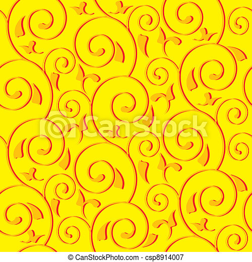 seamless ornamental background - csp8914007