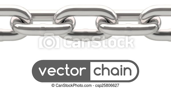 Seamless oval link chain - csp25806627