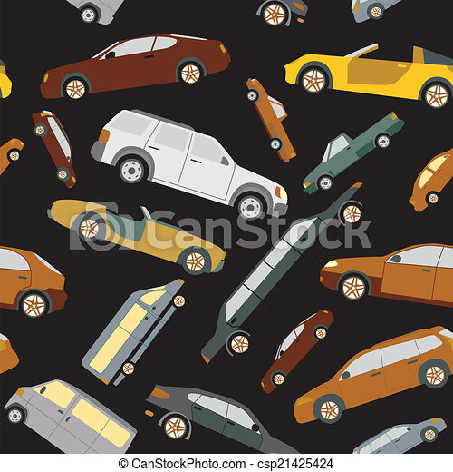 seamless., passageiro, fundo, car - csp21425424