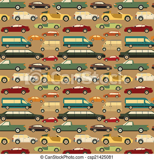 seamless., passeggero, fondo, automobile - csp21425081