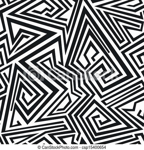 Líneas espirales de monocromo sin marcas - csp15400654