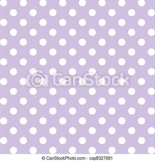 Puntos Polka, patrón pastel sin mancha - csp8327681