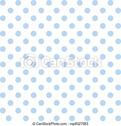 Puntos polares, patrones pastel sin costura - csp8327683