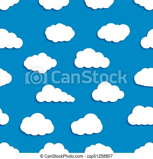 abstract vector seamless pattern background of clouds for vector rh canstockphoto ca clouds vector png cloud vector editor