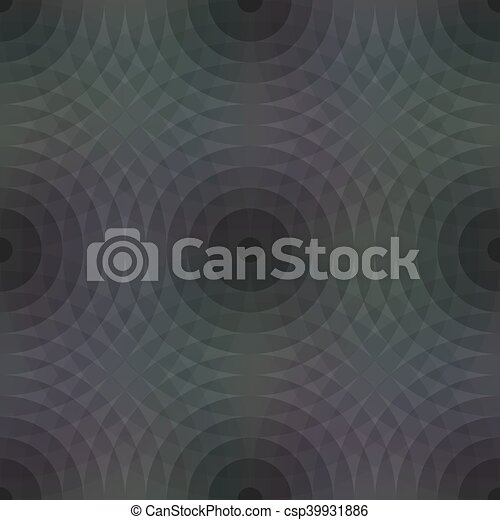 Seamless pattern background with geometric shapes - csp39931886