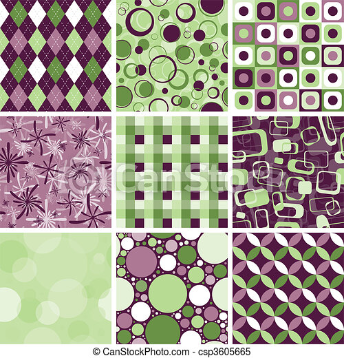 Seamless Pattern - csp3605665