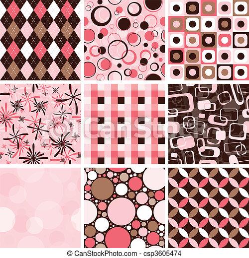 Seamless Pattern - csp3605474