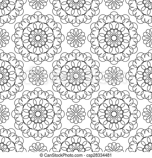 Seamless pattern for your design - csp28334481
