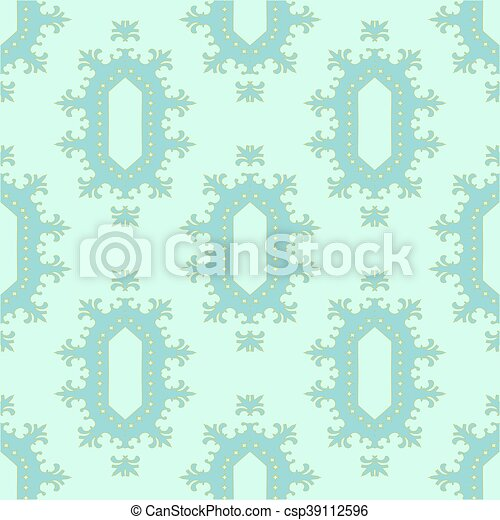 Seamless pattern in pastel colors - csp39112596