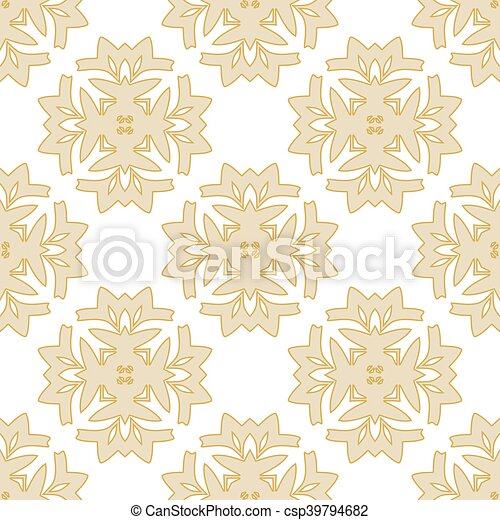 Seamless pattern in pastel colors - csp39794682