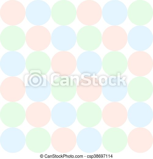 Seamless pattern in pastel colors. - csp38697114