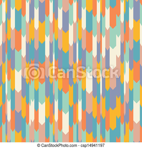 Seamless pattern in retro style - csp14941197
