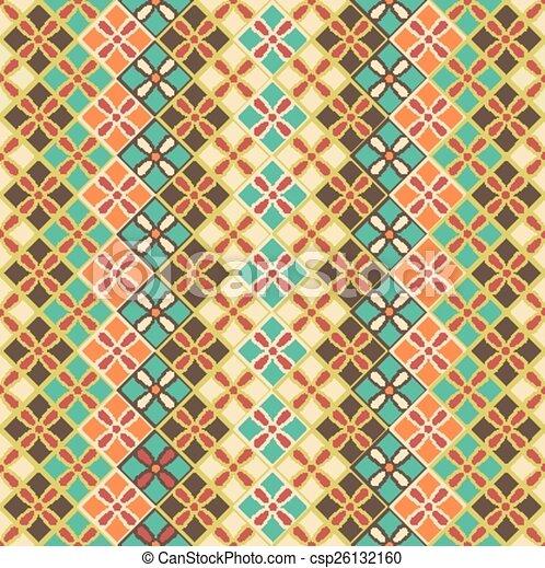 Seamless pattern of squares - csp26132160