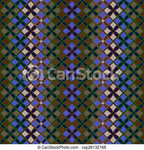 Seamless pattern of squares - csp26132168