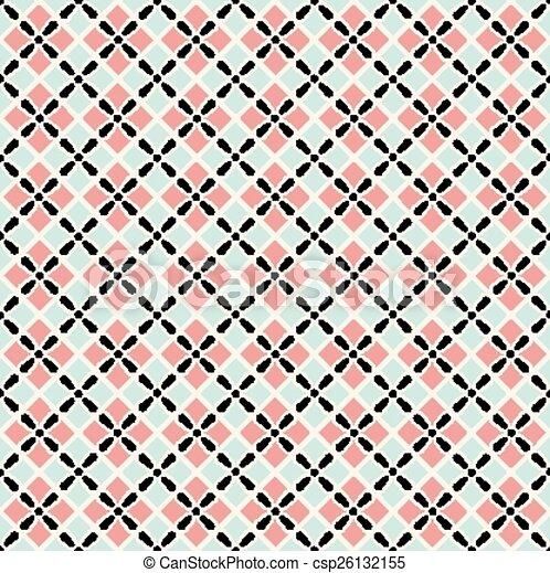 Seamless pattern of squares - csp26132155