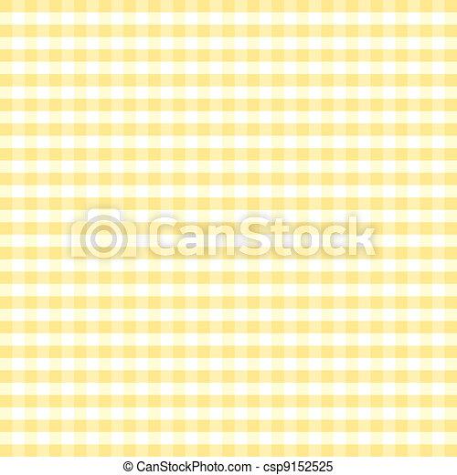 Seamless Pattern, Pastel Gingham  - csp9152525