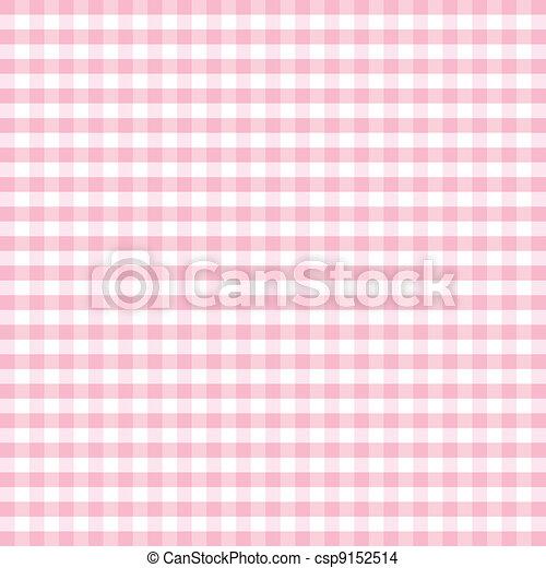 Seamless Pattern, Pastel Gingham  - csp9152514
