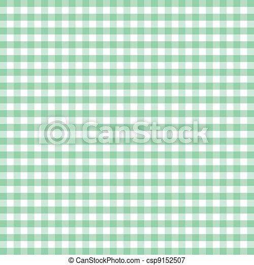 Seamless Pattern, Pastel Gingham  - csp9152507