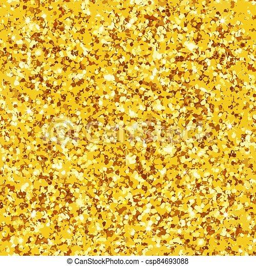 Seamless pattern real gold glitter - csp84693088