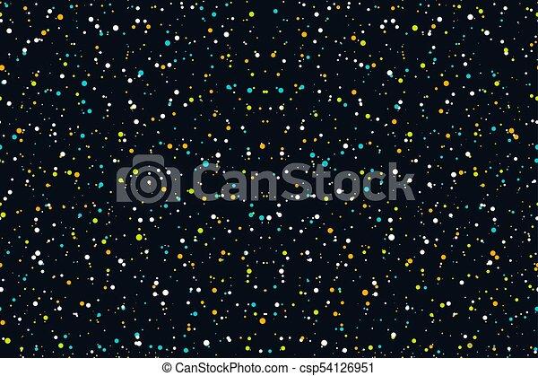 Seamless pattern starry sky - csp54126951